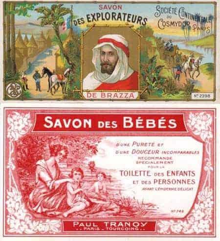 label-savons