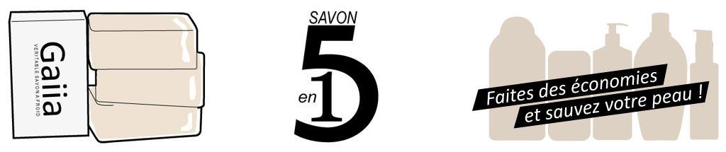 savon 5 en 1