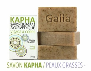 3 savons surgras ayurvédiques Kapha