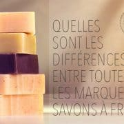 differences entre les savons a froid