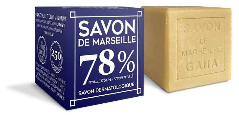 Le savon de Marseille saponifié à froid de Gaiia Pur Olive