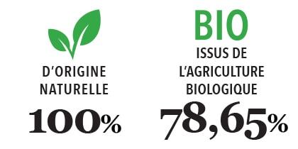 Savon de Marseille Gaiia type 100% naturel - 78,65% BIO