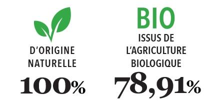 Savon de Marseille Gaiia type 100% naturel - 78,91% BIO