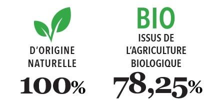 Savon de Marseille Gaiia type 3 - 100% naturel - 78,25% BIO