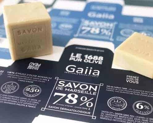 Gaiia veritable savon a froid - Ou trouver le veritable savon de marseille ...