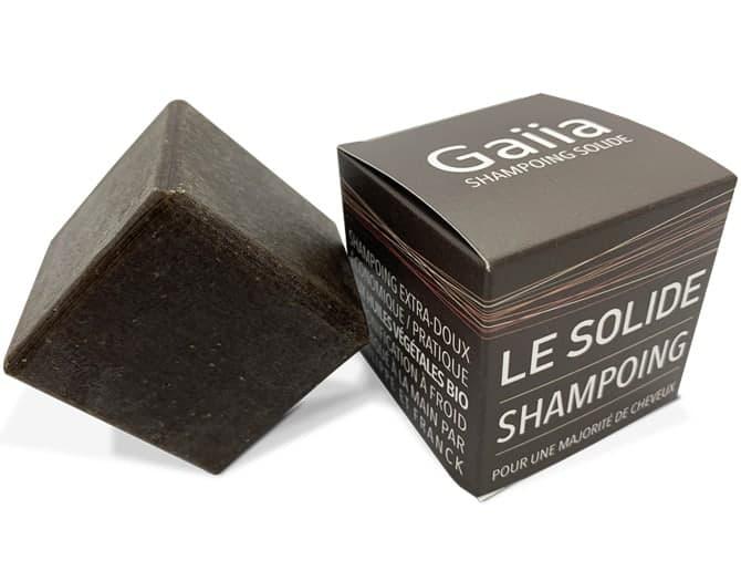 shampoing solide naturel de Gaiia