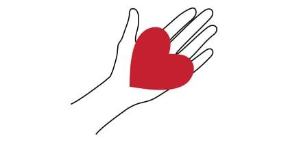 Gaiiart Coeur sur la main