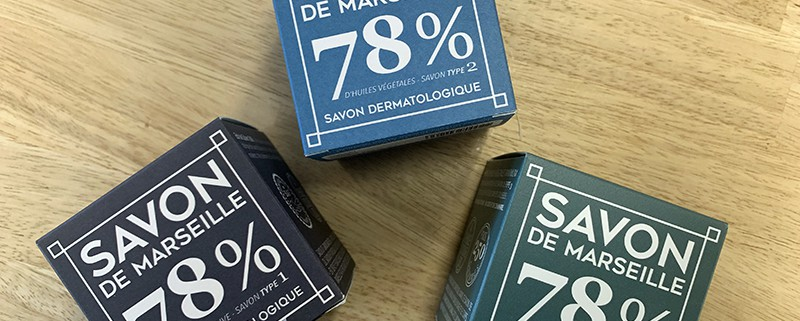 3 recettes de savons de Marseille Olive, Coco et Chanvre par Gaiia