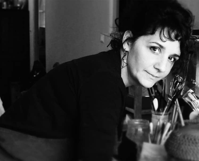 Portrait de Cathy Marre, artiste céramiste